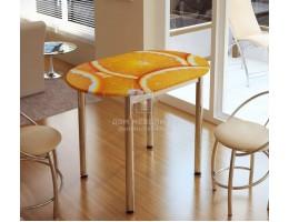 Стол обеденный с принтом (1,0мх0,7м) Рисунок Цитрус . Производитель - БТС
