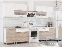 """Кухня """"Айсберри"""" 2,4м ЛДСП производитель: БТС"""