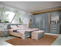 """Спальня """"Палермо-3"""" (комплект-1) Производитель: Стиль"""