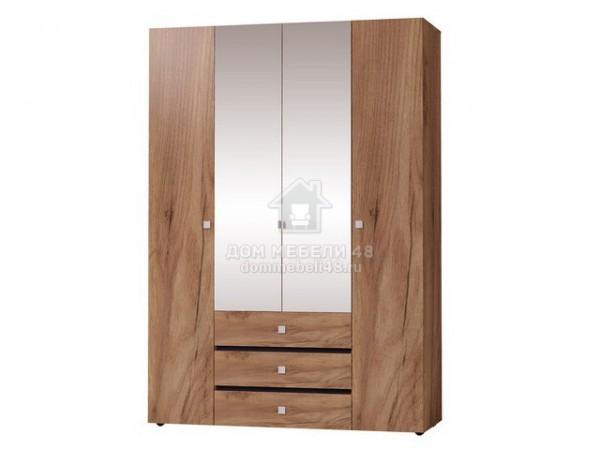 """Шкаф для одежды и белья 555 """"NEO"""" (Нео) 1,6м ЛДСП производитель: Глазов"""