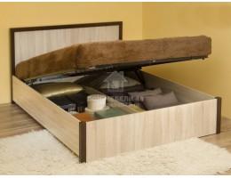 """Кровать 1.2 """"BAUHAUS"""" (Баухаус) 1,8м с подъемным механизмом ЛДСП Производитель: Глазов"""