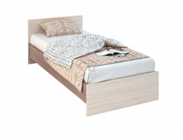 """Кровать """"Бася"""" 0,9м ЛДСП (КР 555) производитель: Стендмебель"""