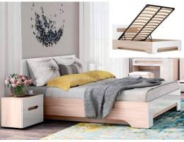 """Кровать """"Палермо-3"""" 1,4м с подъемным механизмом Производитель: Стиль"""