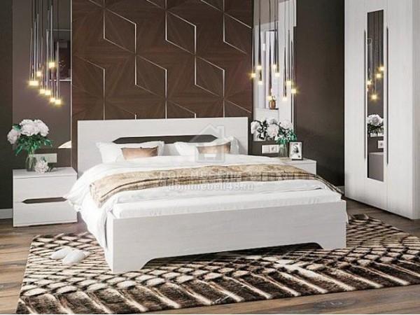 """Кровать """"Валенсия"""" 1,4м ЛДСП производитель: Стендмебель"""