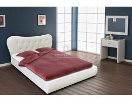Кровать Лавита 1,6м C Мягким Изголовьем М-стиль