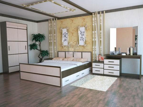 Модульная спальня Сакура (комплектация-3)