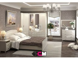 """Спальня """"Виктория"""" (комплект-3) МДФ производитель: Стендмебель"""