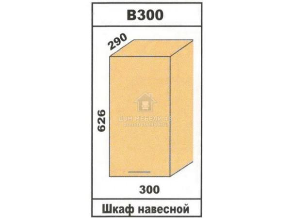 """В300 Шкаф навесной """"Лора"""". Производитель - Эра"""