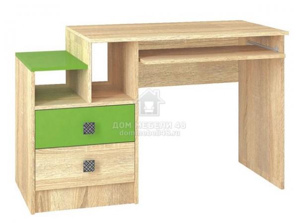 Стол письменный Колибри 1,2м (Акрил Мохито) производитель: ТЭКС