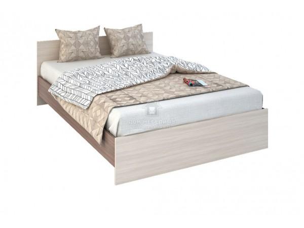 """Кровать """"Бася"""" 1,4м ЛДСП (КР 557) производитель: Стендмебель"""