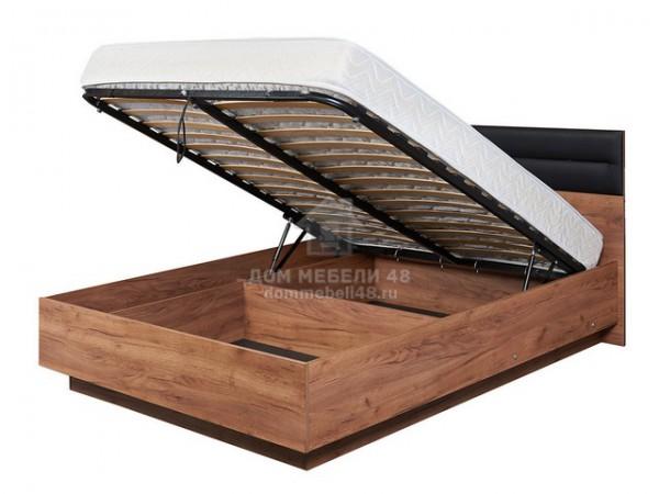 """Кровать Люкс 308 """"NEO"""" (Нео) 1,4м с подъемным механизмом ЛДСП+Экокожа"""