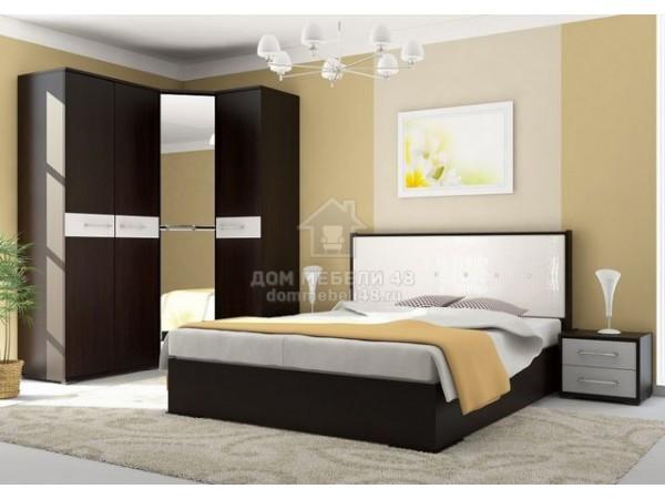 Модульная спальня «Луиза» (Комплект №1) Производитель: Стиль