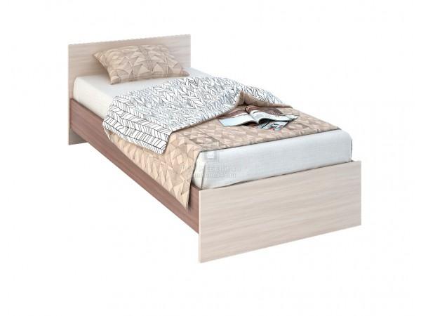 """Кровать """"Бася"""" 0,8м ЛДСП (КР 554) производитель: Стендмебель"""