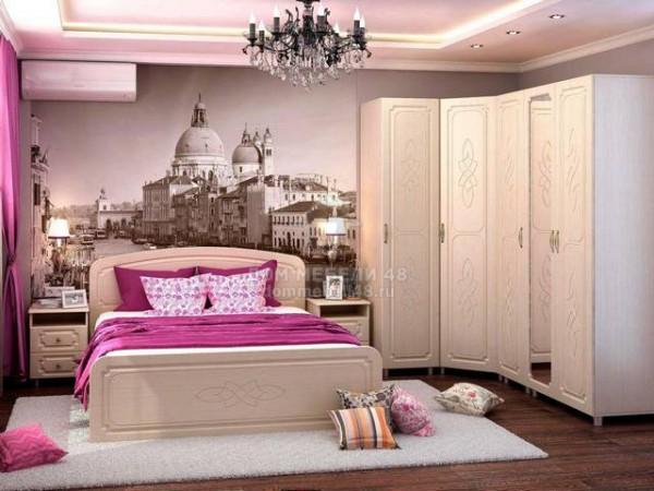 """Спальня """"Виктория"""" (комплект-1) МДФ производитель: Стендмебель"""
