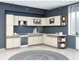 "Кухня ""Шимо"" 3,0м х 2,29м угловая ЛДСП (модульная) Производитель: Эра"