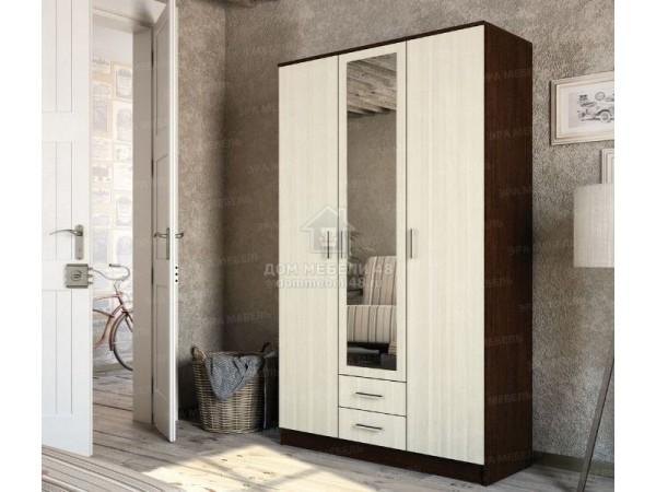 """Шкаф """"Трио"""" 1,2м ЛДСП производитель: Эра мебель"""