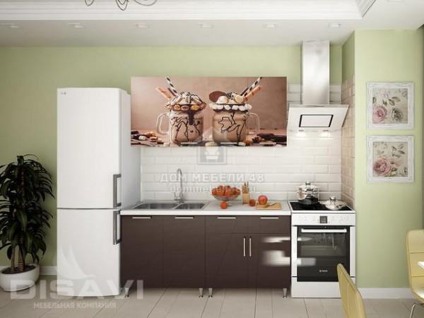 "Кухня ""Коктейль"" 1,6м (2-ящика) МДФ"