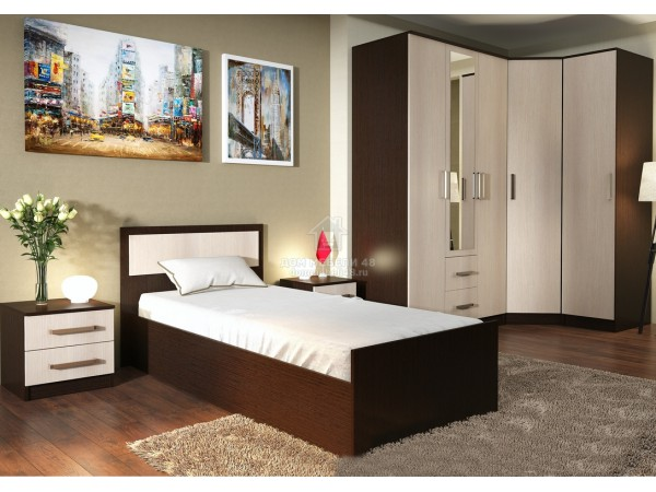 Модульная спальня Фиеста (комплектация-5)