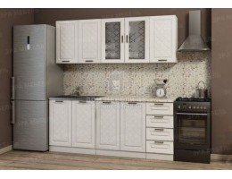 """Кухня """"Агава"""" 1,5м МДФ (Комплектация №1). Эра (модульная кухня)"""