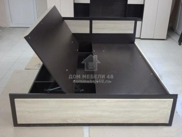 Кровать с подъемным механизмом «Венеция-1» 1,6м ЛДСП