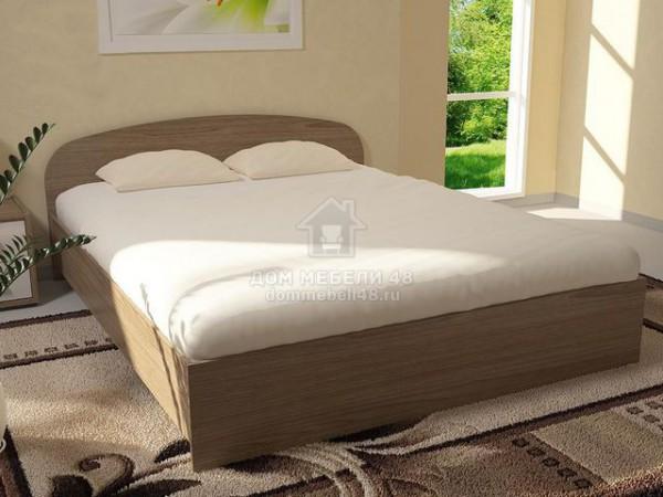 Кровать ЛДСП (А) 1,4м Производитель: Стиль
