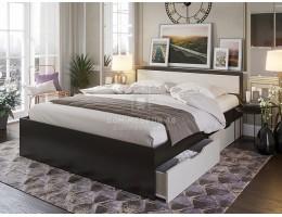 """Кровать """"Гармония"""" 1,2м с ящиками ЛДСП производитель: Комфорт"""