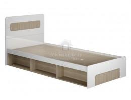 """Кровать """"Палермо-3"""" с подъем.мех. (КР-001) 0,9м МДФ производитель: МК Стиль"""