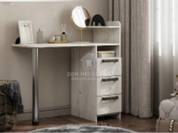 Стол макияжный №1 0,96м (Дуб Белый) ЛДСП производитель: Стендмебель