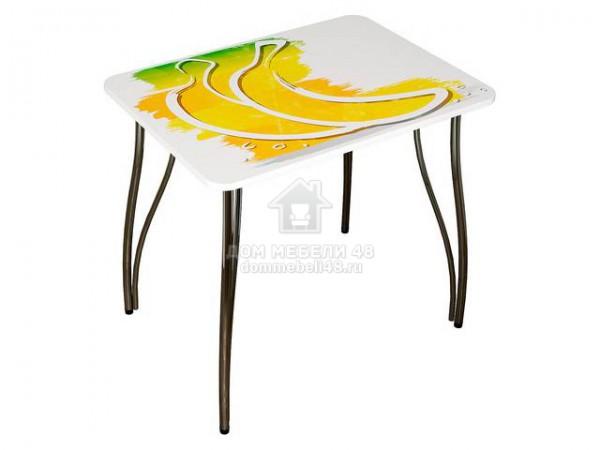 """Стол """"Fresh Time"""" (Банан) 0,8х0,59м МДФ производитель: Интерьер-Центр"""