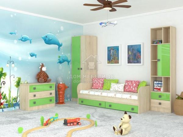 """Модульная детская спальня """"Колибри"""" (Комплект №2) Производитель: ТЭКС"""