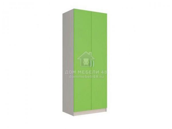 """Шкаф 2-х ств """"Мийа-2"""" 0,8м Зеленый ЛДСП Производитель: Стиль"""