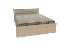 Кровать Амели 1,6, дуб отбеленный