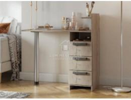 Стол макияжный №1 0,96м (Дуб Серый) ЛДСП производитель: Стендмебель