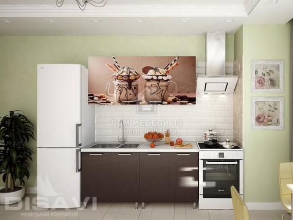 """Кухня """"Коктейль"""" 1,6м МДФ"""