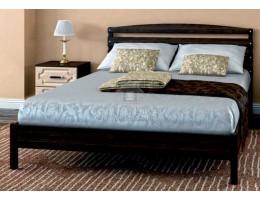 """Кровать """"Камелия-1"""" 0,9м/1,2м массив производитель: Бравомебель"""