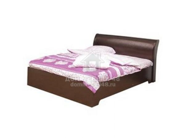 """Кровать """"Мона"""" 1,4м с настилом производ-ль: Олмеко  (06.298)"""