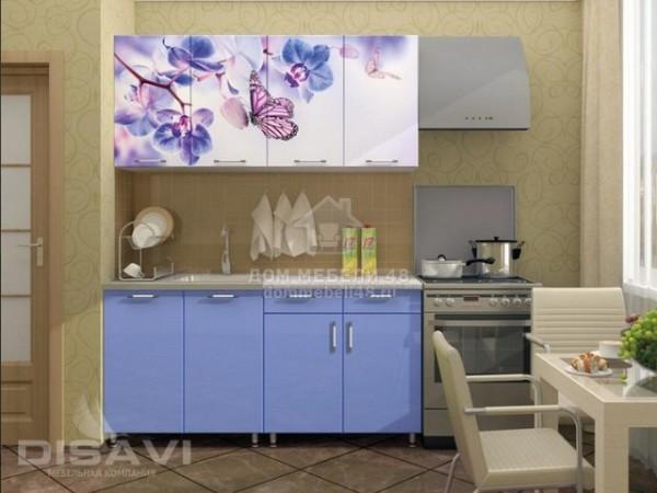 """Кухня """"Бабочки"""" 1,6м (2-ящика) МДФ производитель: Дисави"""