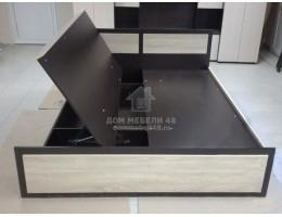 Кровать с подъем.мех. «Венеция-1» 1,6м ЛДСП Производитель: Стиль