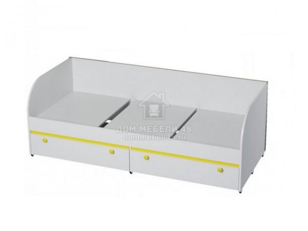 """Кровать с ящиками """"Мамба"""" 0,8х1,86м ЛДСП производитель: БТС"""